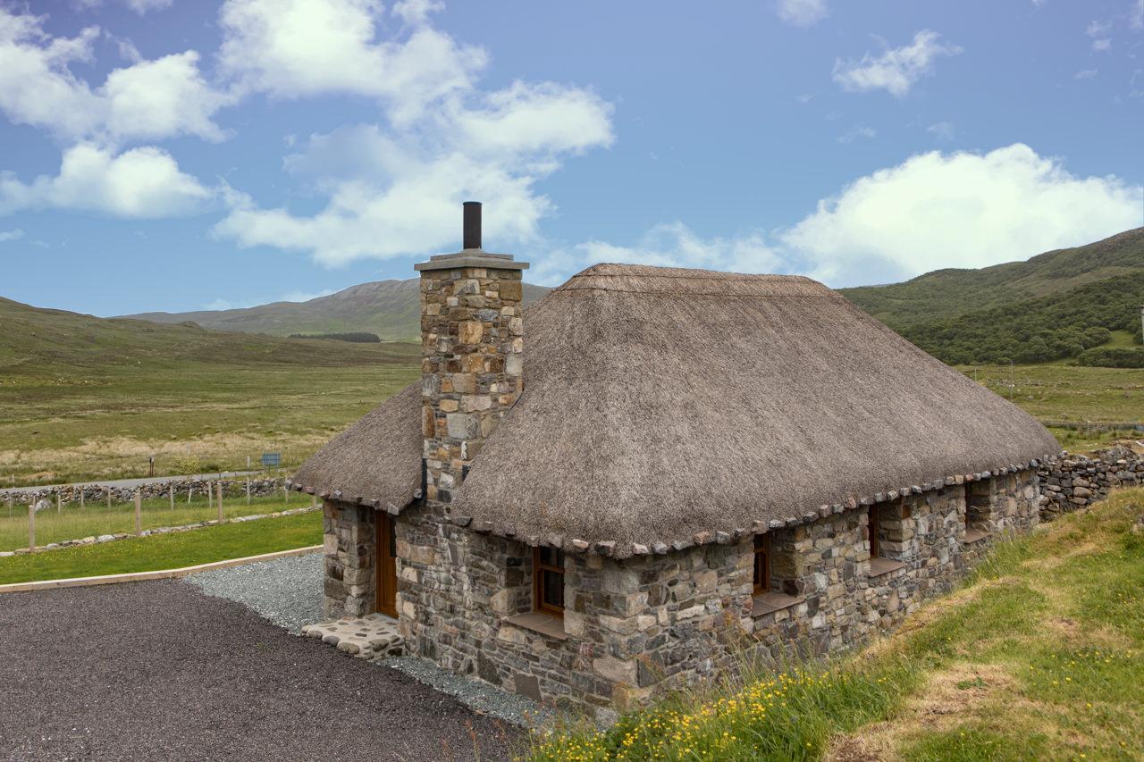 Beinn Dearg Cottage Back