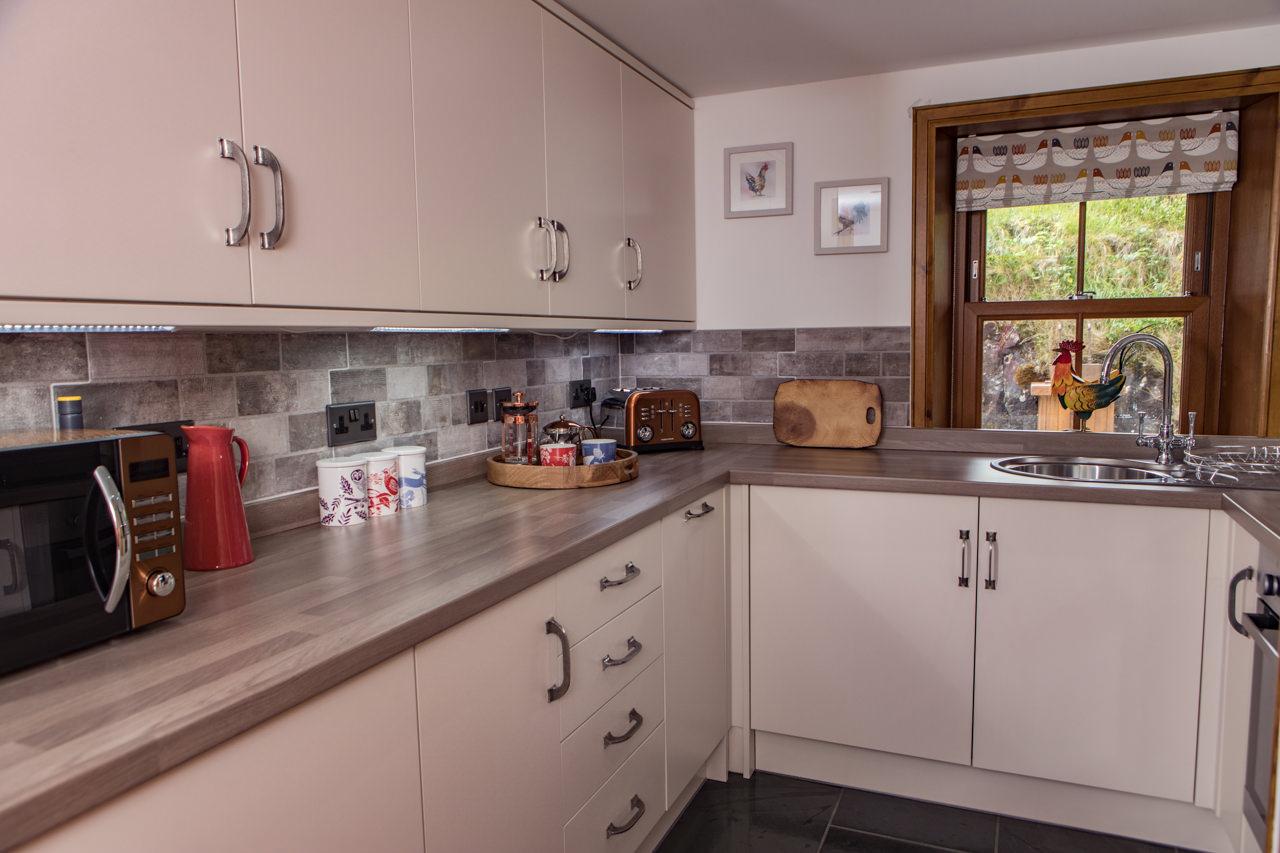 Beinn Dearg Cottage Kitchen