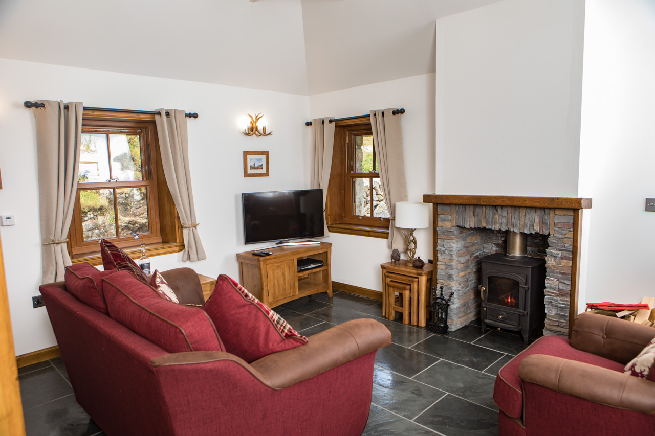 Beinn Dearg Cottage Living Room