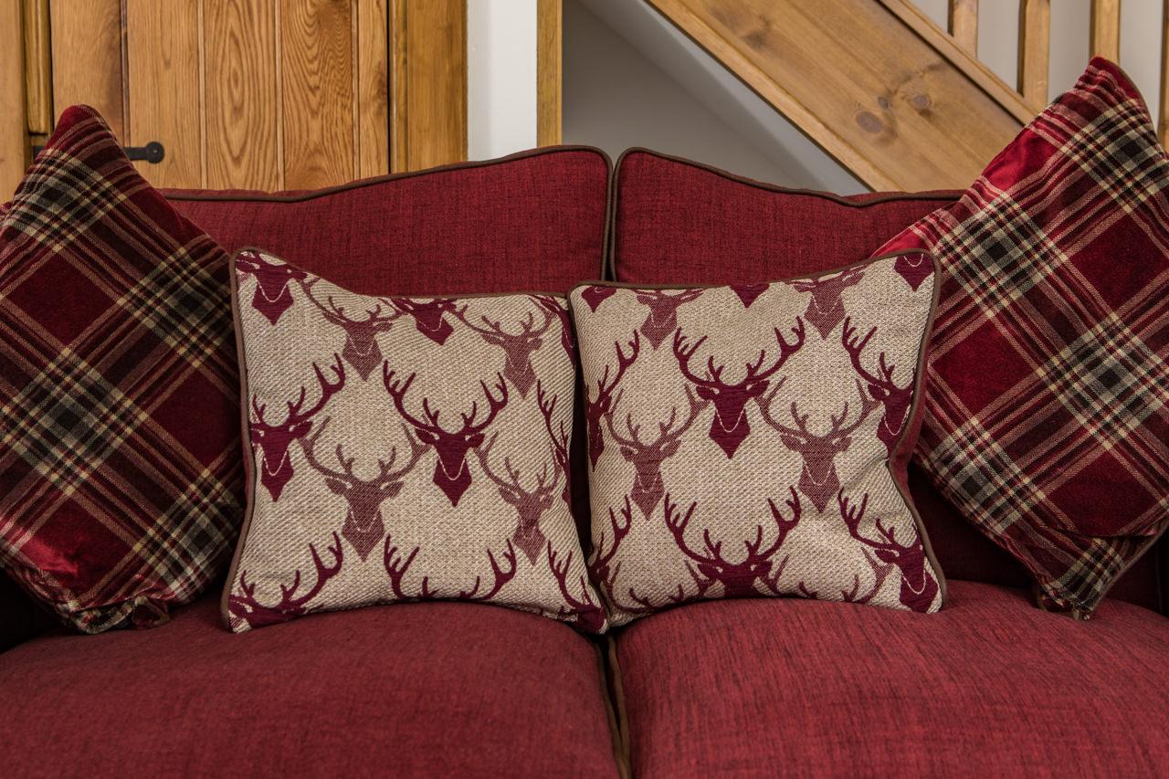 Beinn Dearg Cottage Sofa Detail