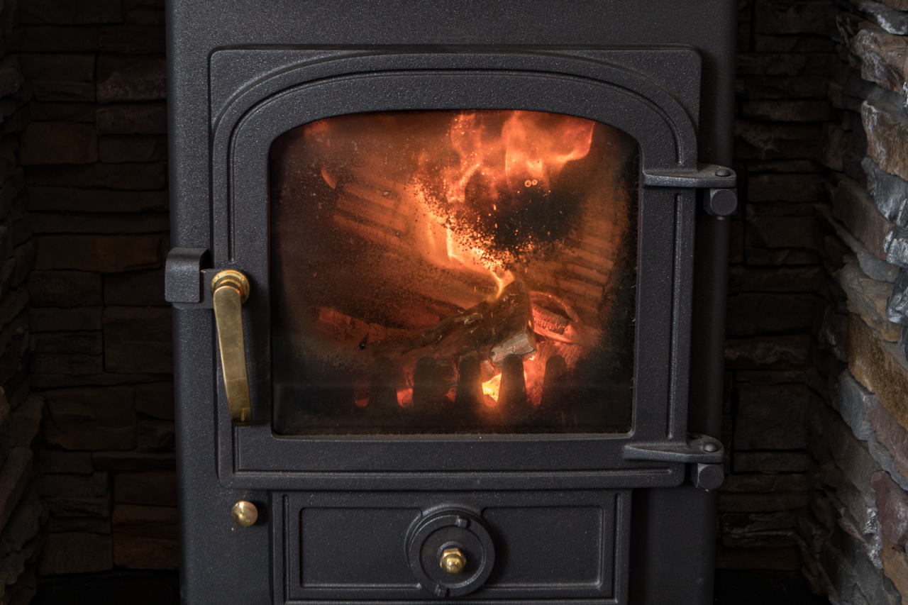 Beinn Dearg Cottage woodburning Stove